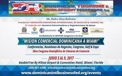 Misión Comercial Dominicana A Miami